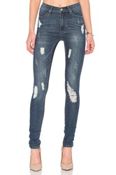 Cheap Monday Second Skin Skinny Carbon Torn