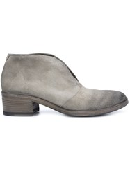 Marsell Laceless Booties Grey