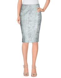 Blumarine Skirts Knee Length Skirts Women Sky Blue