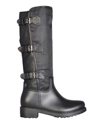 Dav Essen Buckled Boots Black