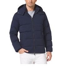 Michael Kors Mens Down Filled Hooded Cotton Jacket