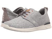 Reef Rover Low Tx Grey Heather Women's Lace Up Casual Shoes Gray