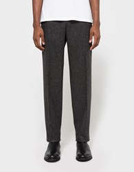 Margaret Howell Soft Narrow Trouser Black Flint