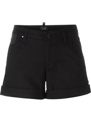 Armani Jeans Cuffed Shorts Black
