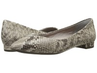 Rockport Total Motion Adelyn Ballet Roccia Python Women's Dress Flat Shoes Animal Print