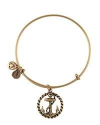 Alex And Ani Nautical Bangle Rafaelian Gold