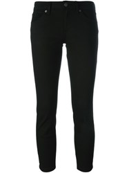 Burberry Brit Cropped Skinny Jeans Black