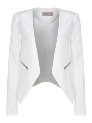 Label Lab Layered Tailored Jacket Off White