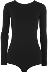 Rick Owens Stretch Jersey Top Black