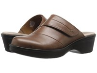 Easy Spirit Pallen Dark Natural Leather Women's Shoes Brown