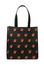 Forever 21 Squirrel Graphic Eco Tote