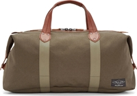 Rag And Bone Military Green Derby Overnight Bag