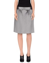 Tommy Hilfiger Skirts Knee Length Skirts Women Grey