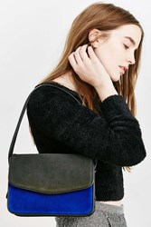 Silence And Noise Silence Noise Suede Shoulder Bag Blue