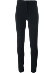 Versace Tapered Cropped Trousers Black