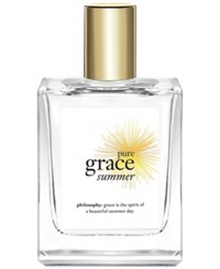 Philosophy Pure Grace Summer Eau De Toilette Spray 2 Oz
