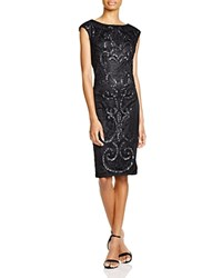 Sue Wong Sleeveless Embellished Sheath Dress
