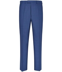 Austin Reed Plain Tailored Fit Suit Trousers Blue
