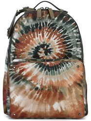 Valentino 'Rockstud Tie And Dye' Backpack Multicolour