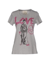Gorgeous Topwear T Shirts Women Grey