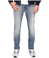 7 For All Mankind Paxtyn W Clean Pocket In Mission Roads Mission Roads Men's Jeans Blue