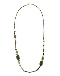 Alexis Bittar Elements Beaded Marquise Long Necklace 42