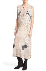 Women's Free People 'Pennies Stuck On You' Beaded Tunic Dress
