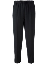 Forte Forte Tapered Trousers Blue