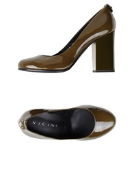 Vicini Pumps Military Green