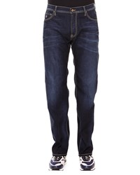 Stefano Ricci Aquila Five Pocket Denim Jeans Blue