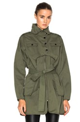 Marissa Webb Nicholas Canvas Jacket In Green