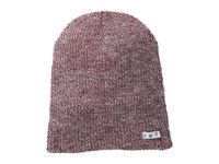 Neff Daily Heather Beanie Maroon White Beanies Burgundy