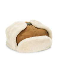 Ugg Shearling Trapper Hat Chestnut