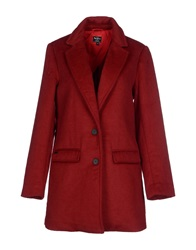 Pepe Jeans Coats Brick Red