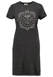 Twintip Jersey Dress Dark Grey Melange Mottled Dark Grey