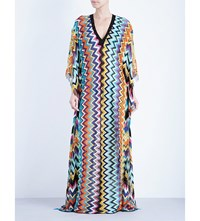 Missoni Zigzag Long Kaftan Multi 6001