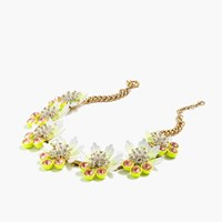J.Crew Petal Brulee Necklace Lemon Sorbet