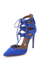 Aquazzura Belgravia High Pumps Royal Blue