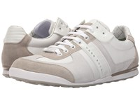 Hugo Boss Akeen By Boss Green Natural Men's Lace Up Casual Shoes Beige