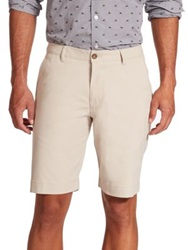 Saks Fifth Avenue Golf Shorts Sand Navy White Grey Sage Black Blue