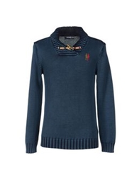 Desigual Sweaters Dark Blue