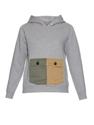 Visvim Contrast Pockets Hooded Sweatshirt
