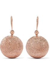 Carolina Bucci Mirador 18 Karat Rose Gold Earrings