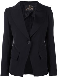 Vivienne Westwood Anglomania Single Button Blazer Black