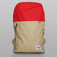 Herschel Supply Backpack Khaki Red Varsity Herschel Bags At Denim Geek Online