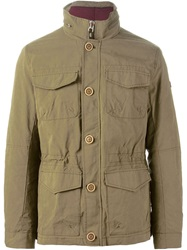 Armani Jeans Cargo Jacket Green