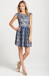Women's Sean Collection Lace Fit And Flare Dress