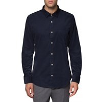 Nn.07 Nn07 Navy Slim Fit Sean Shirt Blue