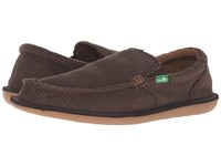 Sanuk Chibalicious Brown Hemp Men's Slip On Dress Shoes