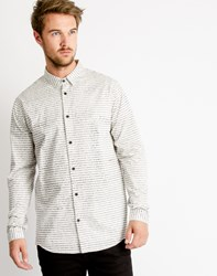 Cheap Monday Vert Shirt Book Text Dirty White